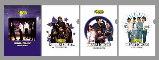 F4 Forever4 concert F4 File 4枚セット